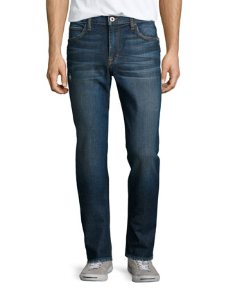 Savile Row Juro Dark Denim Jeans, Blue