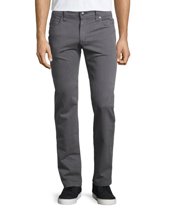 Jimmy Havana Twill Jeans, Charcoal