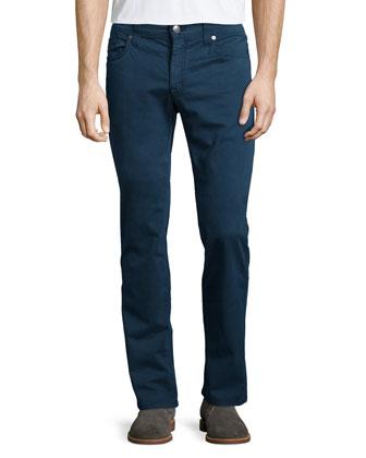 Jimmy Havana Twill Jeans, Navy