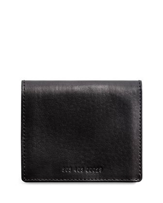 Leather Gusseted Card Case