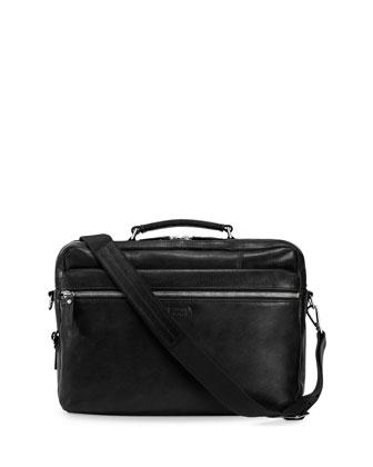 Signature Zip-Top Briefcase