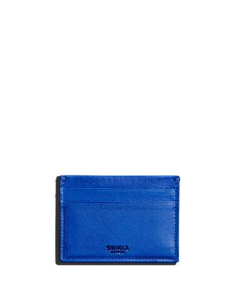 Five-Pocket Leather Card Case