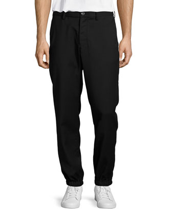 Weir Track Pants, Black