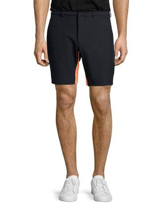 Court Reflex Shorts, Black