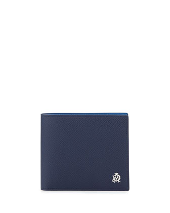 Bourdon 8CC Billfold Wallet, Blue