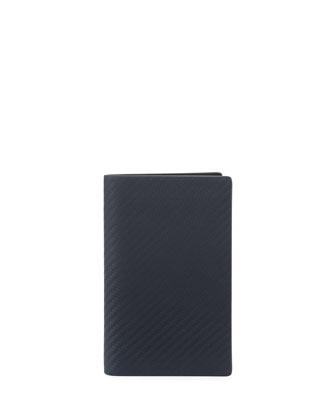 Chassis Vertical 8CC Wallet, Navy
