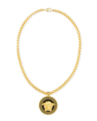 Men's Medallion Chain Necklace