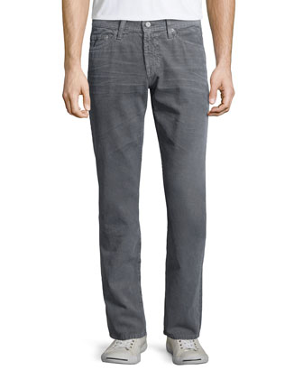 Graduate Sulfur Corduroy Pants, Gray
