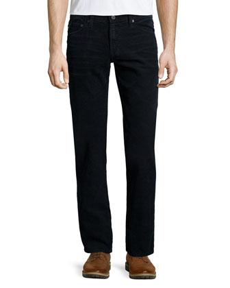 Graduate Sulfur Corduroy Pants, Black