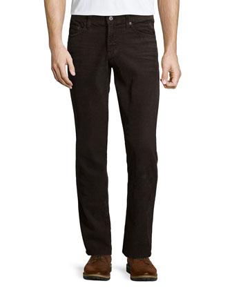 Graduate Sulfur Corduroy Pants, Brown