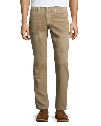 Graduate Sulfur Corduroy Pants, Tan