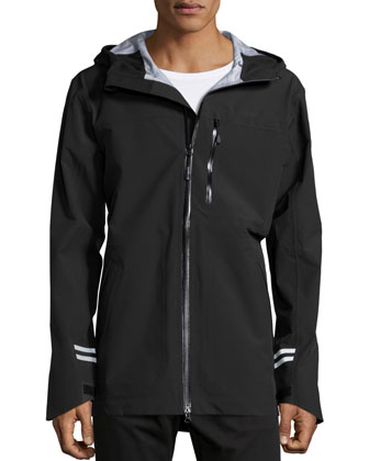 Coastal Shell Jacket, Black
