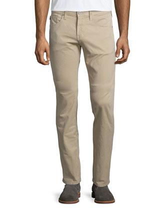 Matchbox Five-Pocket Twill Pants, Tan