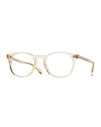 Finley Esq. 51 Optical Glasses, Yellow