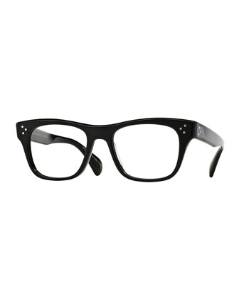 Jack Huston 52 Fashion Glasses, Black