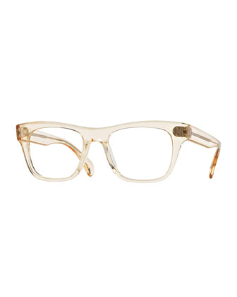Jack Huston 52 Fashion Glasses, Yellow