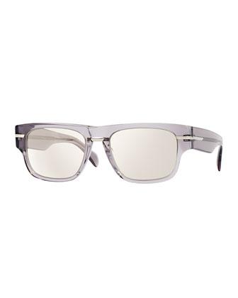Public School 55 Acetate Sunglasses, Silver