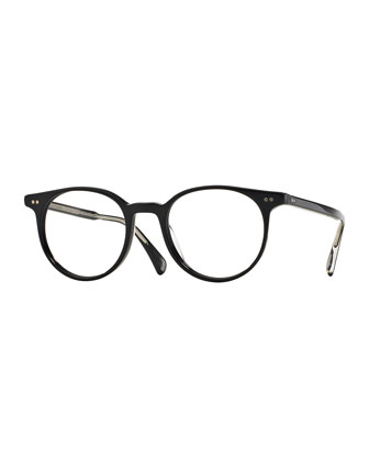 Delray 47 Optical Glasses, Black