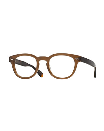 Sheldrake 47 Matte Optical Glasses, Taupe