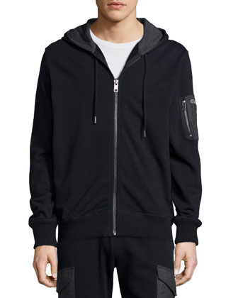 Full-Zip Hooded Sweater, Take Me Home Graphic Tee & Mixed Media Fleece ...