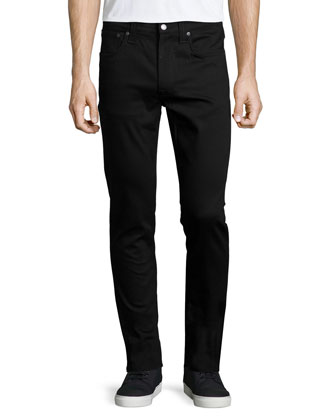 Lean Dean Slim-Straight Jeans, Black