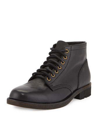 Jackson 1955 Full-Grain Leather Boot, Black