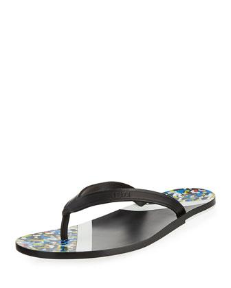 Confetti Flip-Flop Sandal