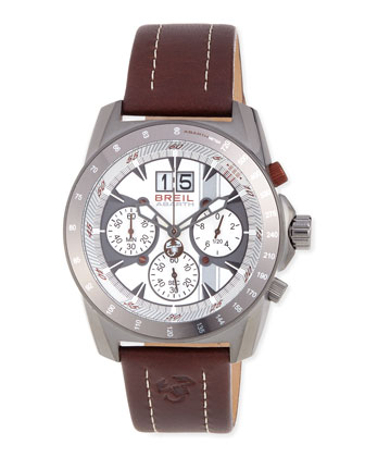 Breil Abarth Chronograph Watch, Brown