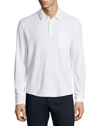 Cotton-Nylon Stretch Pants, Black