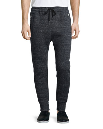 Two-Tone Long-Sleeve Shirt, Black