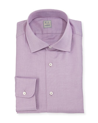 Woven Dress Shirt, Lavender