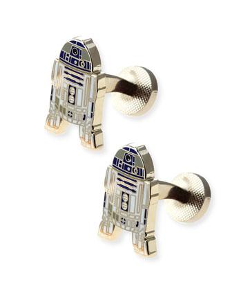 Star Wars R2D2 Cuff Links
