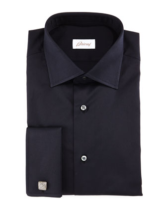 Tonal Micro-Dot Dress Shirt, Multi