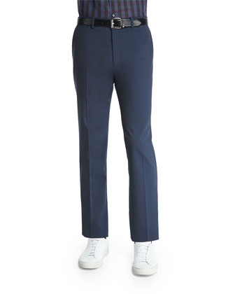 Marlo New Tailor Suit Trousers, Dark Blue