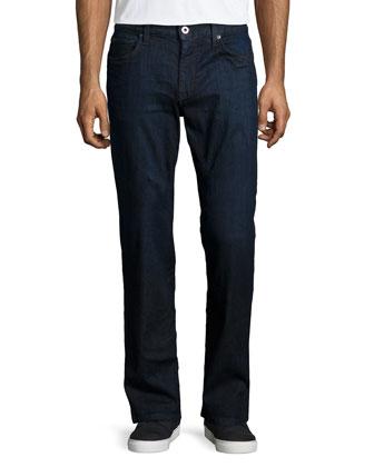 Yumi Classic Straight-Leg Jeans, Blue
