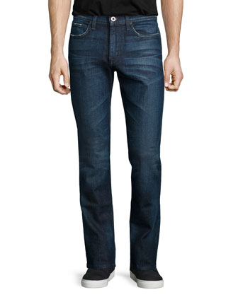 Brixton Ebisu Washed Denim Jeans, Blue