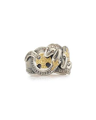 Men's Minos Serpent Ring, Size 10