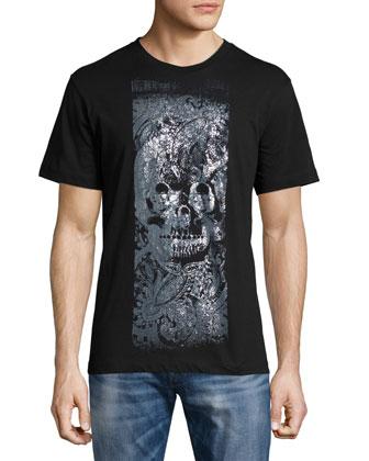 J-Edge Nylon Blouson Jacket, T-Joe Printed Short-Sleeve Tee & Zatiny ...