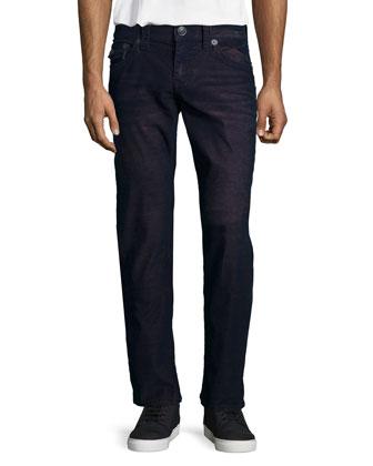 Geno Ace Straight-Leg Jeans, Purple