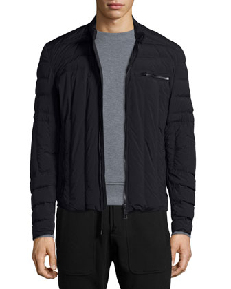 Wansford Lightweight Stretch-Nylon Jacket, New Chanton Melange Crewneck ...