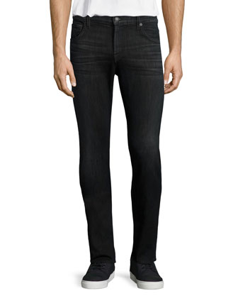 Luxe Performance: Paxtyn Faded Denim Jeans, Odys