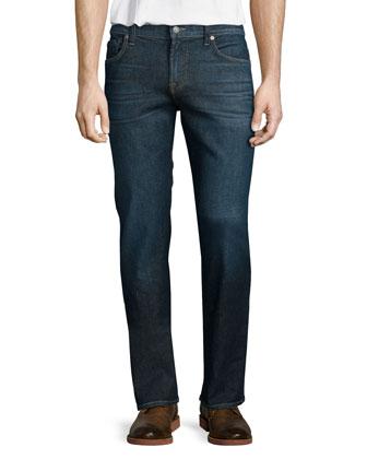 Slimmy Voltage Denim Jeans, Medium Blue