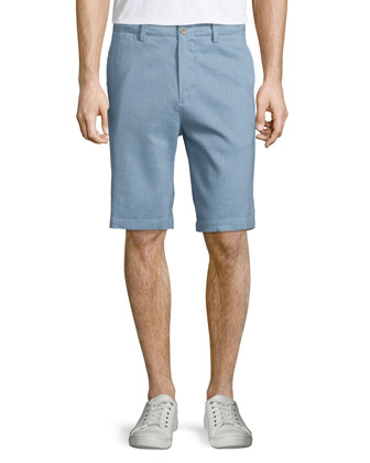 Feeder-Stripe Short-Sleeve T-Shirt
