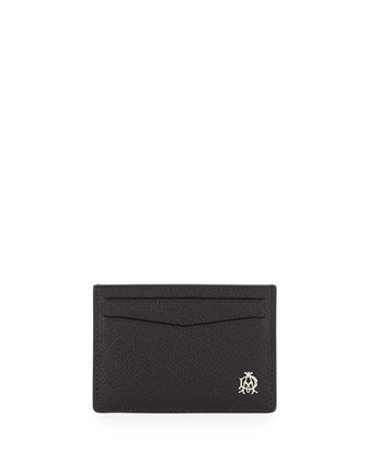 Bourdon Leather Card Case, Black