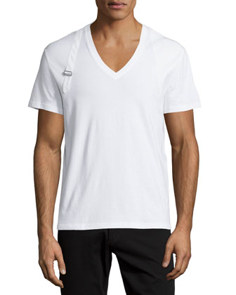 Harness Short-Sleeve Tee, White