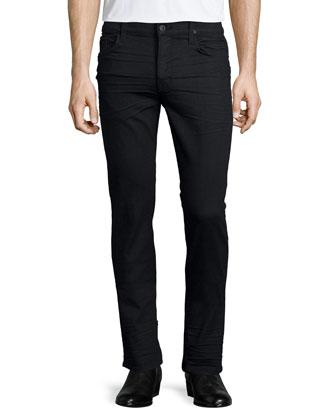 Sartor Estoril Skinny-Leg Jeans, Black