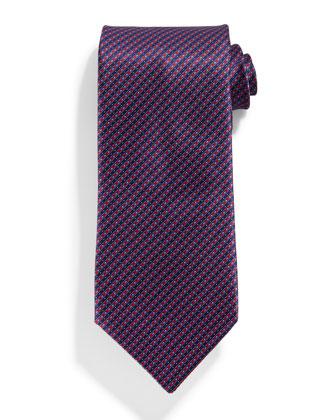 Neat Stripe Silk Tie