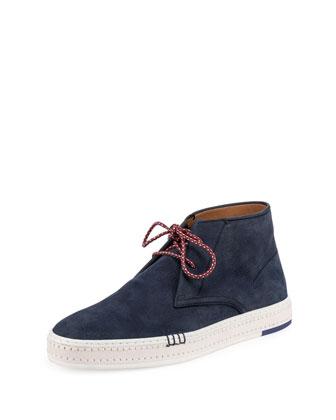 Cortina Suede Chukka Sneaker, Blue