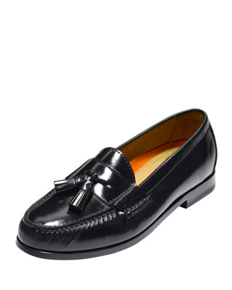 Pinch Grand Tassel Loafer, Black