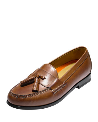 Pinch Grand Tassel Loafer, Brown